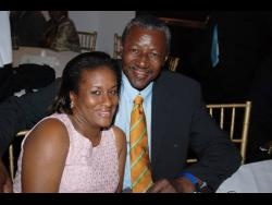 Steve Bucknor, and his wife Leonora.