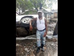 Henry 'Keith' Lewis is being hailed a hero for saving his 11-year-old neighbour, Tiandra.