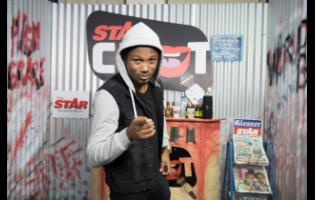 Gladstone Taylor/Multimedia Photo Editor Chozenn on the set of STAR CHAT.