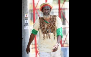 Derrick 'Black X' Robinson begins his 10-day walk around Jamaica today. His mission is to ensure that Chief Tacky becomes a national hero.
