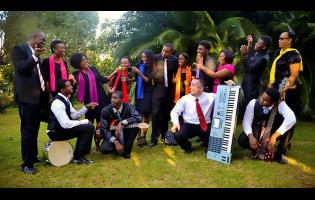 Members of the Anointed Musicianz and Singers group.