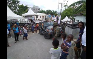 Members of the security forces shut down the event despite appeals from residents.