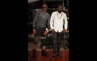Dancehall legends Beenie Man (right) and Bounty Killer.