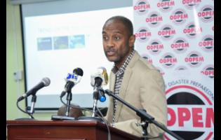 Director of the Meteorological Service of Jamaica Evan Thompson.