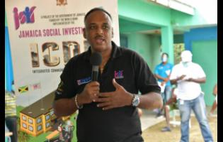 Omar Sweeney, managing director of Jamaica Social Investment Fund.