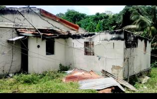 Nadine Watson-Bowen's house was destroyed by fire.