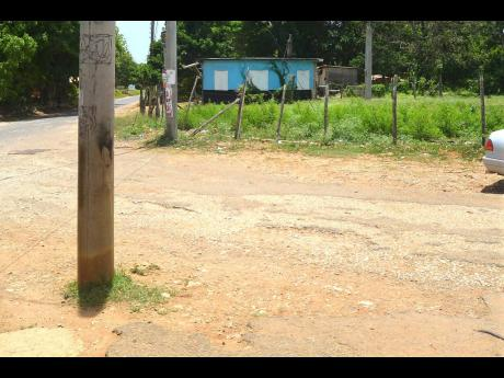 The residents of Bounty Hall in Trelawny say their roads need to be fixed.