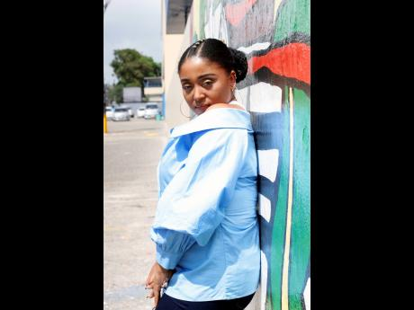 Reggae-newcomer Tia from the US Virgin Islands of St Croix.