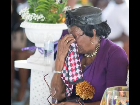 Saying goodbye was very difficult for Twayne Crooks' grandmother, Monica Holness.