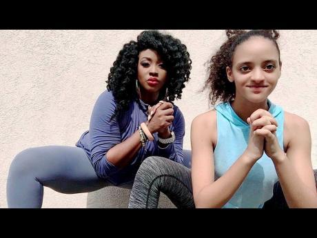 Neisha-Yen Jones and daughter Bailie.